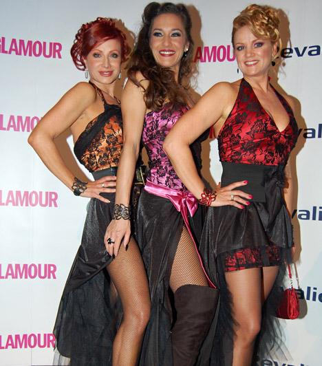 Détár Enikő, Fésűs Nelly és Ladinek Judit  Az eseményről a Dívák Éjszakája trió tagjai sem hiányoztak, akik ezúttal is összeöltöztek - hozva a tőlük megszokott szexi formájukat.