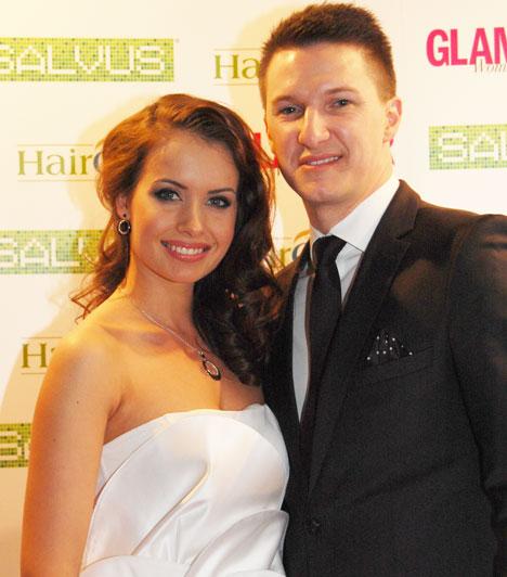 Gájer Bálint és Ötvös BrigittaA sármos énekes gyönyörű szerelmével, a Miss International Hungary cím 2013-as birtokosával érkezett a hetedik Glamour-gálára.