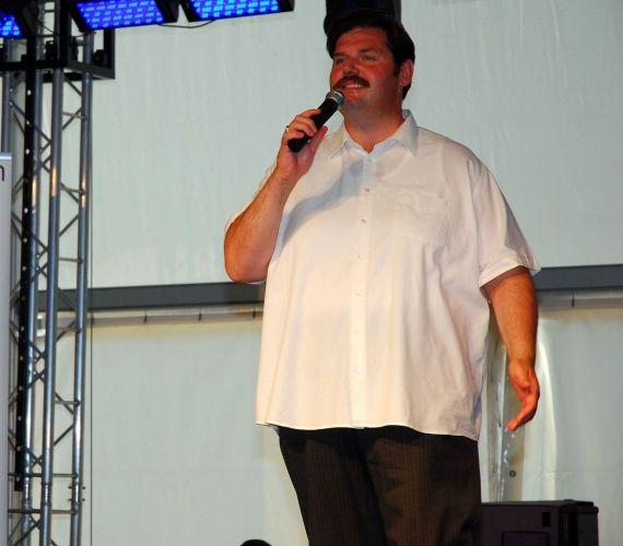 A legutóbbi Csillag Születik győztese, Mészáros János Elek is fellépett a fesztiválon.