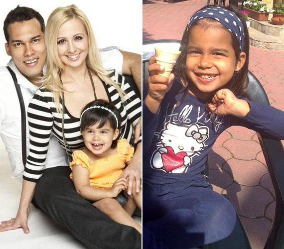 A TV2 műsorvezetője 2004 februárjában ismerte meg a kubai származású Alberto Costafredát, akivel 2005-ben Budapesten házasodtak össze. Kislányuk, Miranda 2008. október 22-én jött világra, vagyis ősszel betölti az ötödik életévét.