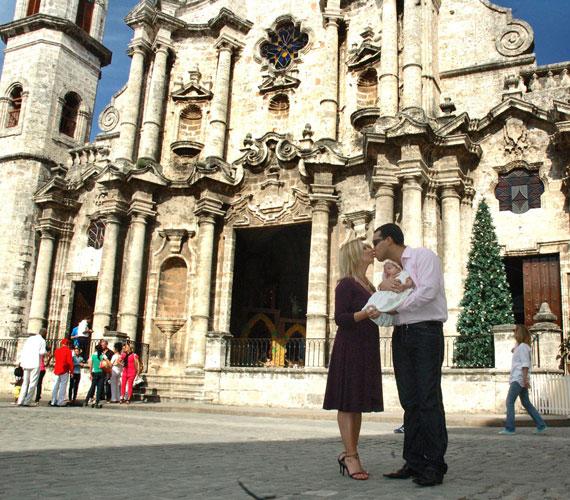 Mirandát 2008 januárjában a havannai katedrálisban keresztelték meg.