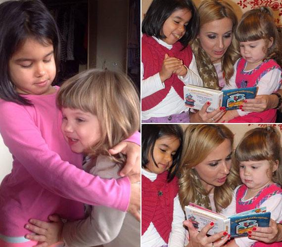 Miranda szemmel láthatóan nagyon jó unokatestvér. Édesanyja öccse ismét apuka lett, ezt tegnap este tudatta Gombos Edina a Facebook-oldalán, így kislánya a kétéves Gigi kisöccsét is pátyolgathatja.