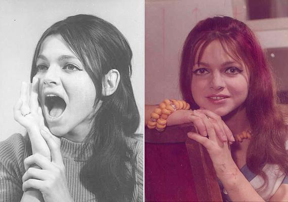 Pályafutása kezdetén a szép színésznő hosszú, sötét hajjal hódított. 1970-ben az Egy őrült éjszaka című vígjátékban tűnt fel, már ekkor olyan elismert színészek voltak a partnerei, mint Törőcsik Mari, Kállai Ferenc, Mensáros László vagy Garas Dezső. A hetvenes éveket végigforgatta.
