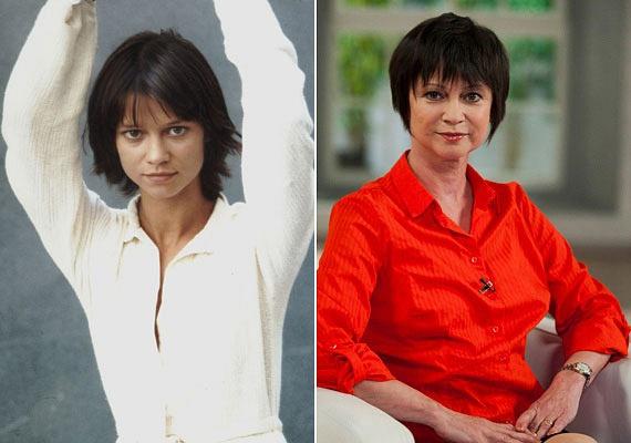 20 évet is letagadhat korából Görbe Nóra. A Linda sorozat sztárja mintha alig öregedett volna az elmúlt években, arca ugyanolyan kislányos, mint évtizedekkel ezelőtt.