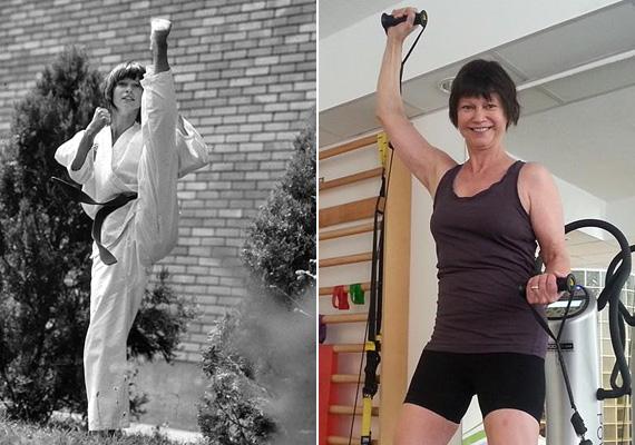 A Linda sorozat kedvéért tanult meg taekwondózni, zöld öves volt, amikor elkezdték a forgatást. Előtte évekig balettozott, így bevallása szerint a lábtartást volt legnehezebb megtanulnia. A színésznő manapság is rendszeresen edz, mert fontosnak tartja, hogy a testére odafigyeljen mindamellett, hogy egészségesen táplálkozik.