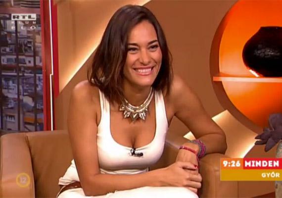Görög Zita tíz év után az RTL Klub TRENDmánia című műsorának műsorvezetőjeként tért vissza a képernyőre.