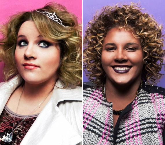 A képek leírása alapján a magyar énekesnőt a bal oldali felvételen gazdag lotyóként, a jobbon talkshow-műsorvezetőként kívánta a kreatív csapat megjeleníteni.