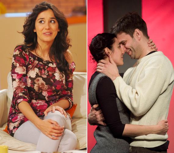 2010 februárjában, a Pinceszínházban bemutatott Varsói melódia próbái során szeretett bele kollégájába, Simon Kornélba. Másfél évvel később az RTL Klub reggeli műsorában jelentette be, hogy babát vár.