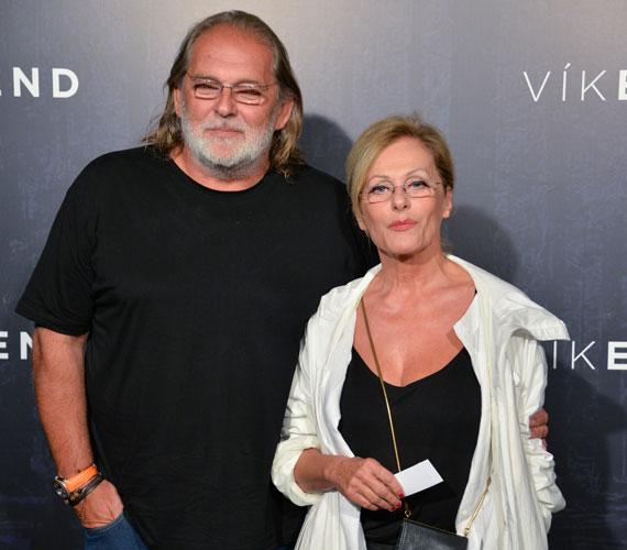Pataki Ágnes és férje, Kovács Gábor, az Üvegtigris producerei szintén kíváncsiak voltak a magyar thrillerre.