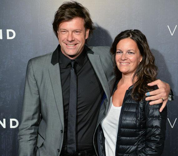 Till Attila, a TV2 műsorvezetője természetesen feleségével volt kíváncsi a magyar alkotásra.