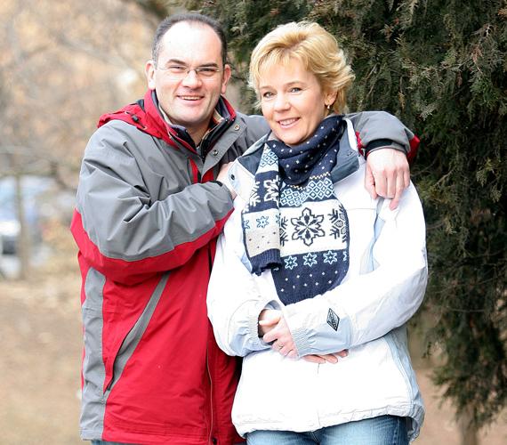 Gundel Takács Gábor és felesége, Ágota immáron húsz éve élnek boldog és harmonikus házasságban.