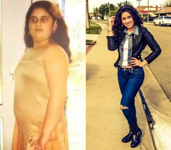 Radics Gigi mindig dundi kislány volt, de odafigyeléssel sikerült egy év alatt 20 kilót fogynia.