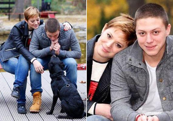 Szinetár Dóra és a 19 éves Marci - ha nem lenne feltűnő köztük a hasonlóság, kevesen gondolkoznának el rajta, hogy a színésznő Facebook-oldalára feltöltött fotón anyát és fiát látják-e.