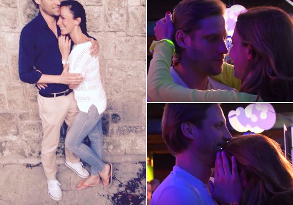 Demcsák Zsuzsa már a közösségi oldalán is ország-világ előtt vállalja, hogy szerelmes - bal oldali fotó. A műsorvezető azt követően tette ki a képet, hogy a Balaton Soundon a kamerák előtt is nyíltan csókolózott új párjával, Sebastiannal.