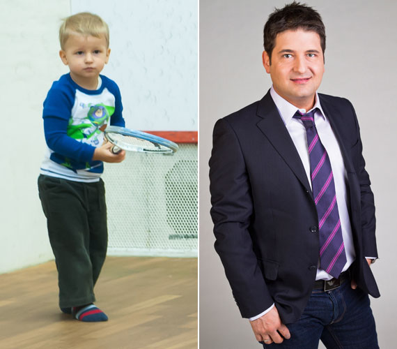 Dávid Hajdú Péter és Sarka Kata második gyereke. 2010 augusztusában jött világra.