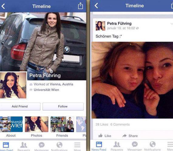 Petra Führing Sarka Kata bikinis és fehérneműs fotóit is posztolta - talán azokkal akar férfit fogni.