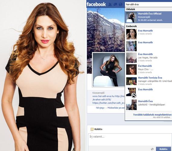 Horváth Évát is felháborította 2011-ben, hogy valaki a nevében csevegett az ő barátaival, és helyesírási hibákkal teli posztokat tett ki. Azóta már csak a hivatalos és a magánoldala él a Facebookon.