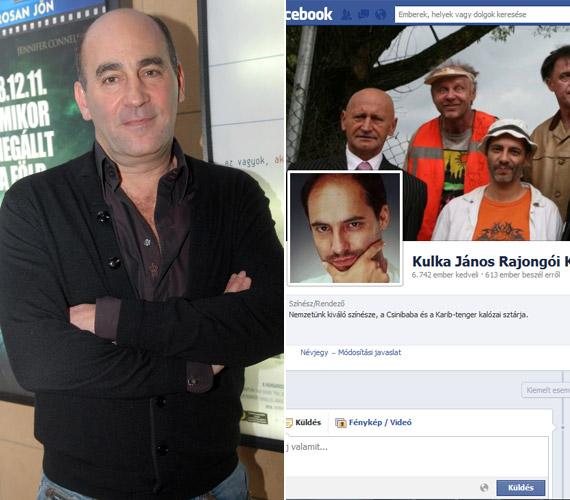 A Kulka János Rajongói Oldalt sem a színész vagy tényleges rajongói üzemeltetik, azon profilképként is Rudolf Péter színész képét tette ki valaki.