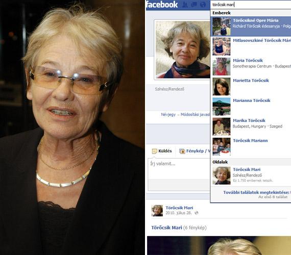 """""""Gyerekek,élő legenda vagyok, és csak 578 rajongóm van: Ti!Megosztotattok, népszerűsítetettek már engem? Nem török pl. VV Gigi (25853) babérjaira, de azért mégis"""" - ez a hibákkal teli bejegyzés 2011-ben jelent meg a Facebookon egy Törőcsik Mari nevével jegyzett oldalon. Azóta törölték."""