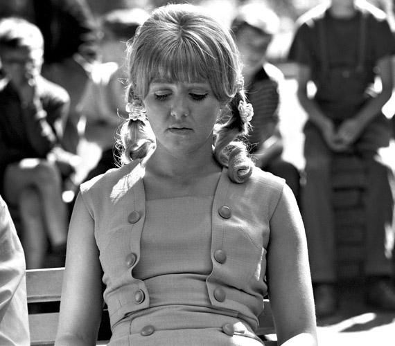 1968-ban Keleti Márton Elsietett házasság című filmjében copfos, fiatal lányként. Együtt forgathatott a főszerepet alakító Tolnay Klárival és Básti Lajossal.