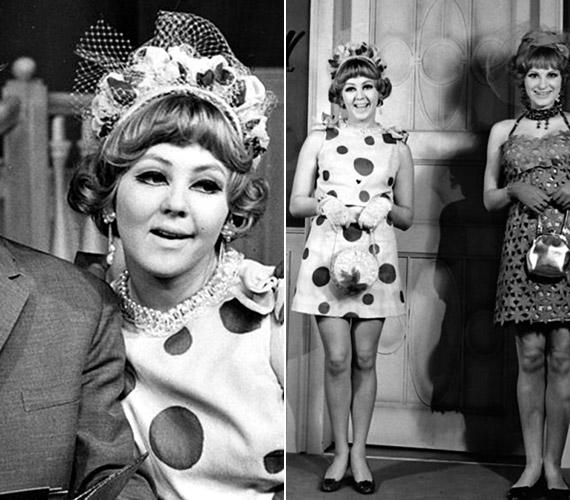Az 1968 januárjában a Pesti Színházban bemutatott Furcsa pár című komédiában.