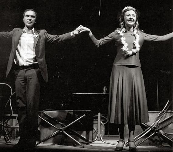 A Vígszínházban 1979-ben bemutatott Pisti a vérzivatarban című darabban, amelyet Várkonyi Zoltán rendezett. 1965-ben a legendás rendező hívta a teátrumhoz, amelynek azóta hűséges tagja.