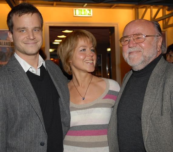 Haumann Pétert fia mellett lánya, Petra is követte a színészi pályán.