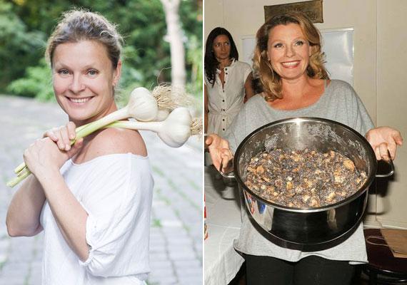 Két szakácskönyve is megjelent, Abraka babra címmel 2013-ban a SuperTV2-n főzős műsort is kapott.
