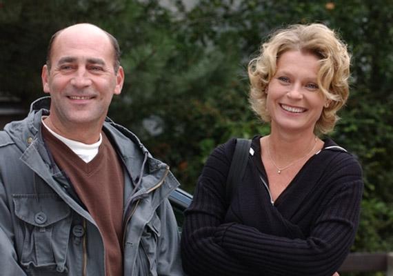 Horváth Ádám 2004-ben indult Életképek című sorozatában is láthattuk - Kulka János alakította a szerelmét.