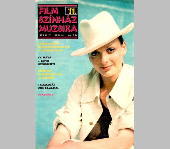 1979 márciusában ugyancsak szerepelt a Film Színház Muzsika címlapján.