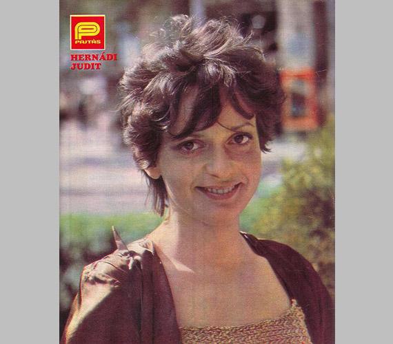 Egy évvel később, 1983-ban már rövid hajjal a Pajtás borítóján.