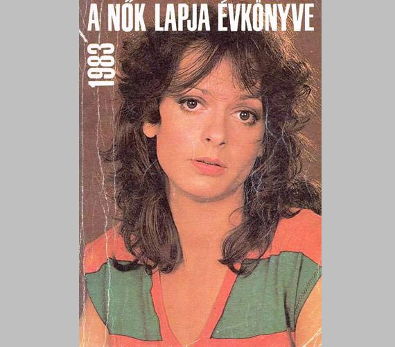 A Nők Lapja 1983-as évkönyvén is őt láthattuk.