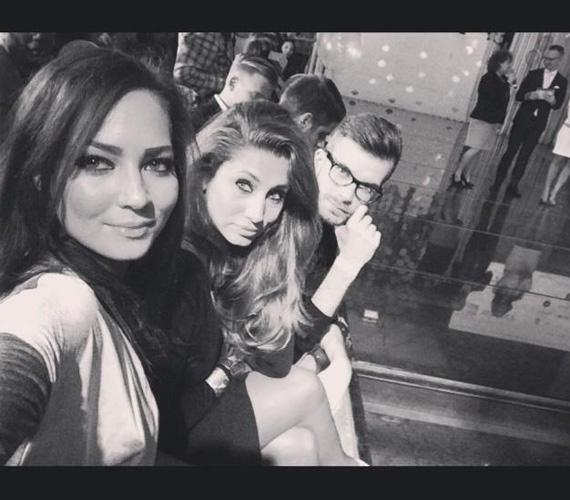 Horváth Éva műsorvezető a Femina White Caviar 000 Divatshow-jára volt hivatalos péntek este, onnan posztolta ezt a hangulatos fotót.