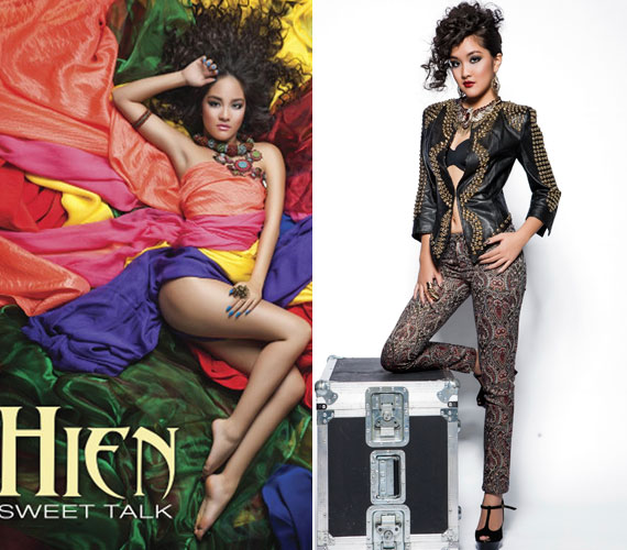 A Sweet Talk című nagylemezével idén szexi nőként mutatkozott be: a borítón csak színes textilek takarták meztelen testét, és azok sem teljesen.