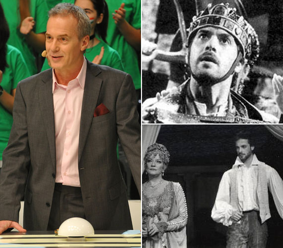 Fiatal színészként eljátszotta többek között István királyt is a Szörényi –Bródy rockoperában.