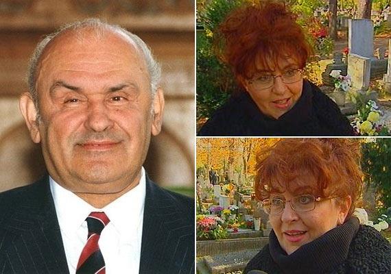 A komikus a 20 évvel fiatalabb Kövér Ildikót 2000-ben vette el, öt évvel azután, hogy Vnoucek Margit elhunyt. Őt is nagyon szerette, és a humorista haláláig szeretetben nevelték az asszony lányát, Letíciát.