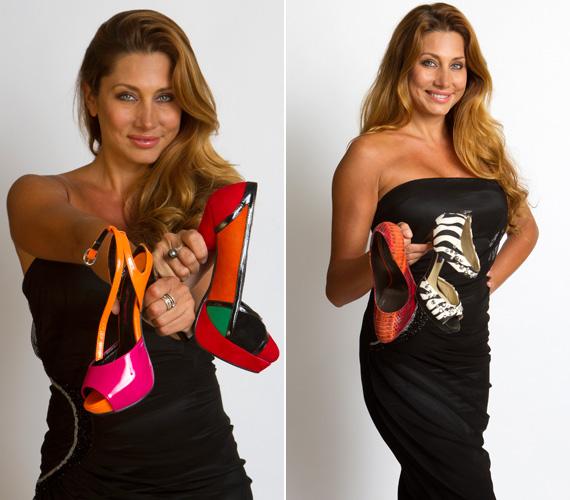 Horváth Éva szerint egy nőt nagyon öltöztet egy szép cipő, tartást ad, egészen megváltoztatja a megjelenést, más-más hangulatot kölcsönöz. Nagyon szereti a magas sarkakat, szerinte mérnöki remekmű mindegyik.