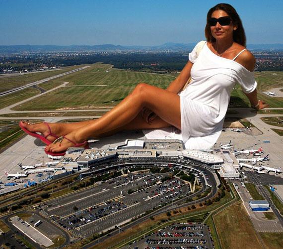 Egy ilyen fotóval bármelyik reptér vonzerejét lehetne növelni.