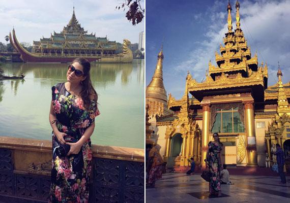 Horváth Éva Burmából posztol képeket, és úti beszámolót is ír a mesés helyről és élményeiről.
