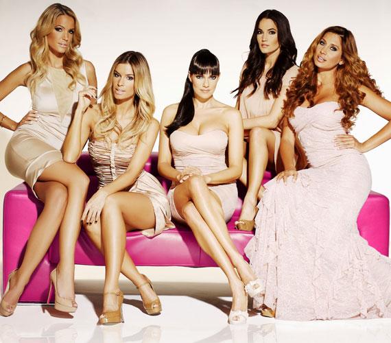A Covergirls ötösfogata a Sugarbird új kollekciójának divatfotózásán is remekül mutatott együtt.
