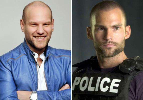 Kocsis Tibor megszólalásig hasonlít Stiflerre, azaz Seann William Scottra.