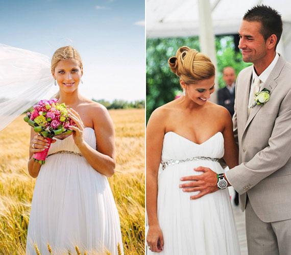 Tápai Szabina kézilabdás július 7-én tette közzé Facebook-oldalán, hogy összeházasodott a világbajnok kajakossal, Kucsera Gáborral.