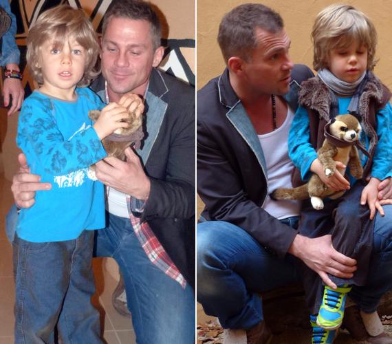 2008 októberében született meg Hujber Ferenc kisfia, Noel.