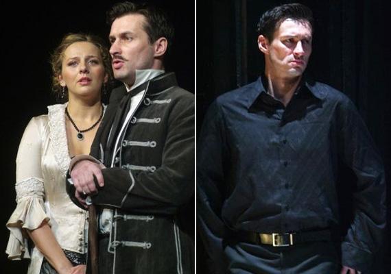 Huszár Zsolt játszott a Tisztújítás című kosztümös darabban és Racine Phaedra című klasszikus drámájában is.