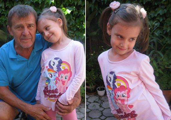 Nagy Bandó András 62 éves volt, amikor 2010 májusában - a legnagyobb titokban - világra jött a kislánya, Gvendolin. A humoristának a házassága előtt született egy lánya, Mónika, majd a feleségétől most 44 éves színésznő, Nagy Natália.