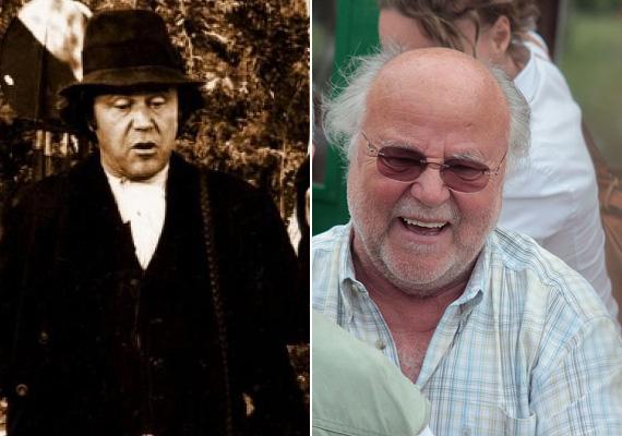 Haumann Péter a Patást játszotta az Indul a bakterházban. A 74 éves színészre sokan a Hupikék törpikék gonosz Hókuszpókjának hangjaként emlékeznek, de színpadon és filmen is rengeteget játszott. 1994 óta a Katona József Színház tagja, filmen láthatták a nézők a Keménykalap és krumpliorrban, az Állítsátok meg Terézanyut!-ban, idén pedig a Kossuthkifli című sorozatban. A 2010-ben a nemzet színésze címet elnyerő művész Platon: Szókratész védőbeszéde című előadásával időről időre fellép az ország különböző pontján, ez már afféle védjegye. Felesége Vári Éva színésznő, gyermekei, Haumann Máté és Haumann Petra is követték szüleiket a pályán.