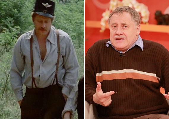 Koltai Róbert volt az Indul a bakterház Baktere. A ma már 71 éves színész szintén 1968-ban diplomázott a Színművészetin, azóta több társulatnál is volt, legtöbbet a Kaposvári Csiky Gergely színháznál. Bár a nagyközönség elsősorban filmjei miatt ismeri - Csapd le, csacsi!, Sose halunk meg, Ámbár tanár úr, Hyppolit -, ő azt vallja, hogy a színház az egyetlen állandó dolog az életében. A Jászai Mari-díjas művész felesége Pogány Judit, akit még 1971-ben vezetett oltár elé.
