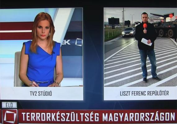 A Tények egyik márciusi adásában Várkonyi Andrea a Liszt Ferenc repülőtérről bejelentkező Dudás Ádámot kérdezte, hogy a brüsszeli terrortámadást követően mit tapasztal a magyar reptéren a fokozott készültségből. A riporter válaszolt is, ám helyette képi aláfestésként közel tíz másodpercig a konkurens híradó felvétele látszott. A képernyő bal felső sarkában a nézők az RTL Klub, míg a jobb felsőben a TV2 logóját láthatták.