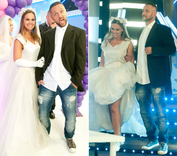 Dundika a Mr. és Mrs. idei évadának döntőjében húzott menyasszonyi ruhát - a műsort Majkával meg is nyerték. A modell nem sietteti az esküvőt, szerinte előbb születik kisfiuknak testvére, mint hogy összeházasodnának a rapperrel.