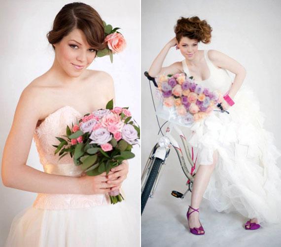 A 2011-es X-Faktor legjobb női hangjáról, Muri Enikőről még tavaly készített az Esküvő Classic menyasszonyi ruhás fotósorozatot.